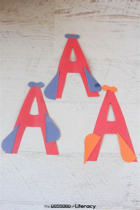 A is for Airplane Letter Craft: Letter A Craft for Kids