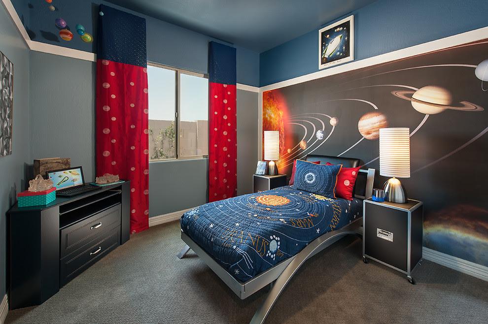 غرف نوم صبيان مليئة بالمغامرة والخيال