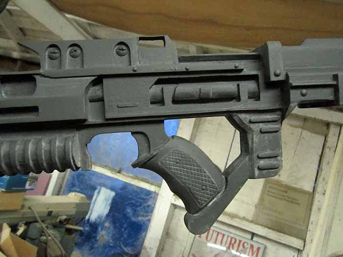 Helghast Rifle Grip Progress