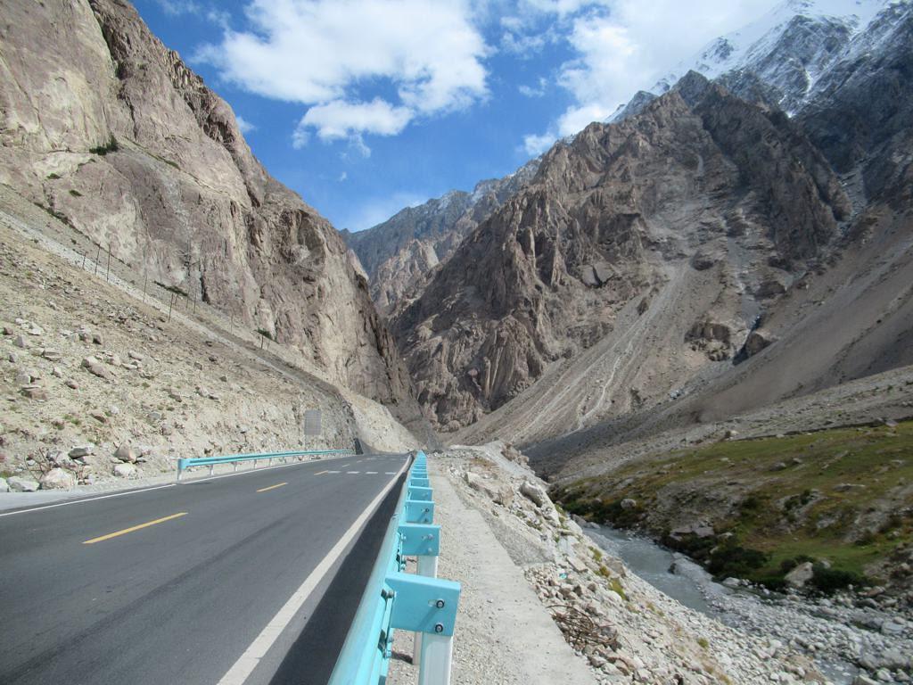Karakoram Highway The Karakoram Highway Between China