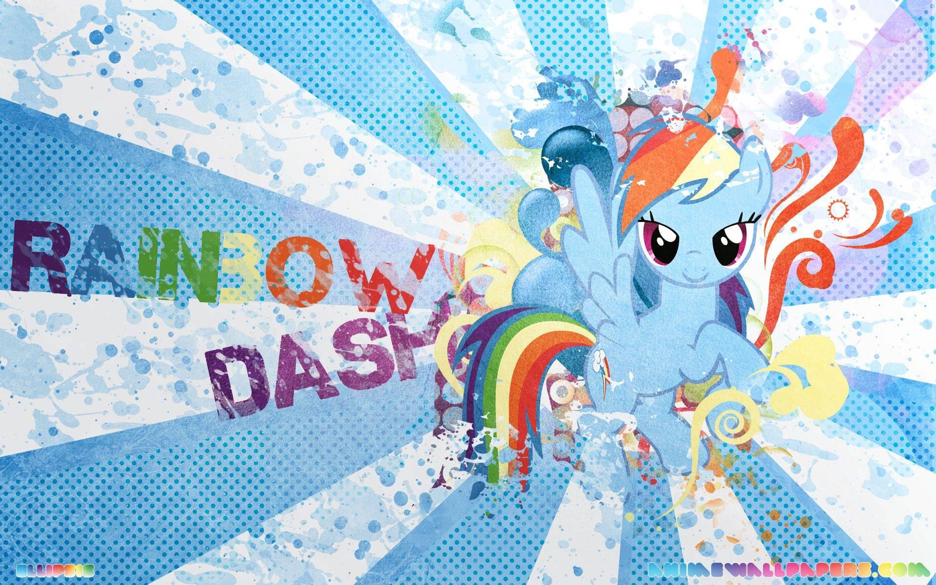 My Little Pony Rainbow Dash Wallpaper Cute Rainbow Dash Wallpapers