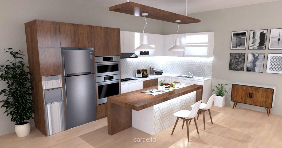 Kitchen Set Kayu Warna Putih - Tentang Kitchen