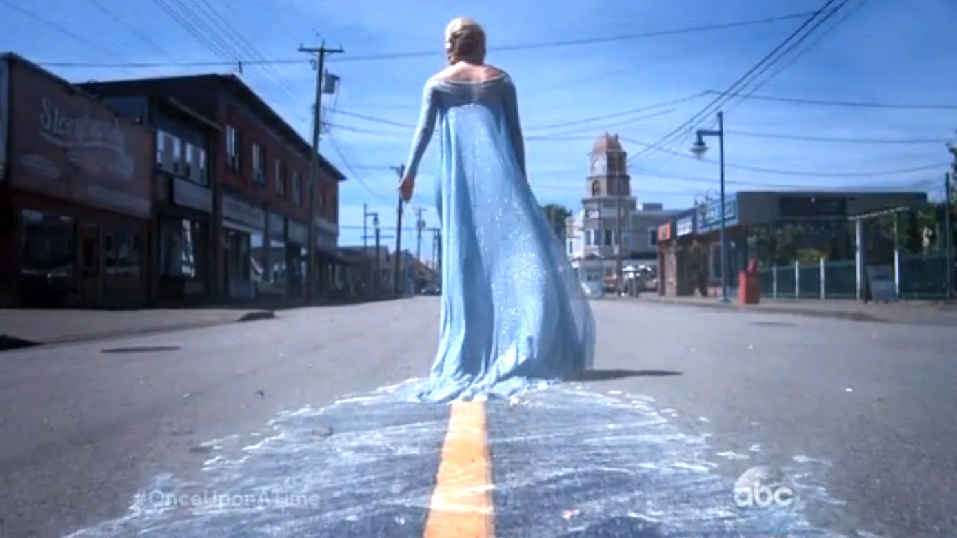 Once Upon a Time Teases an Icy Welcome For Elsa of Frozen [VIDEO]