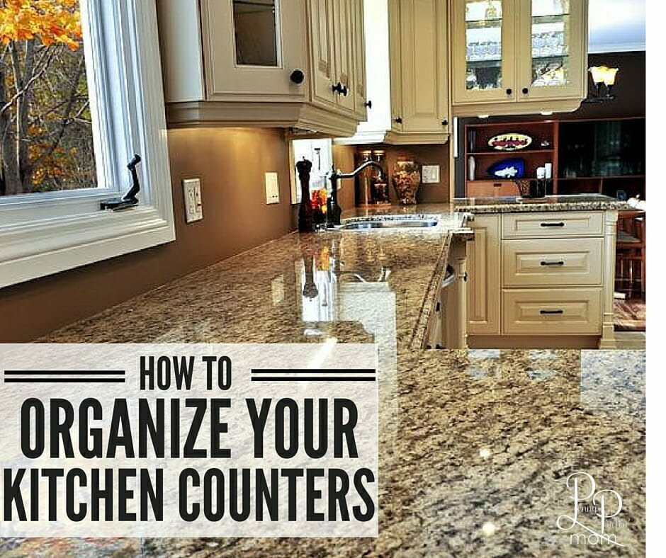 How to Organize Kitchen Counters