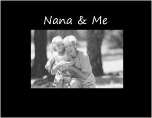 Nana Me Photo Frame Athena Posters