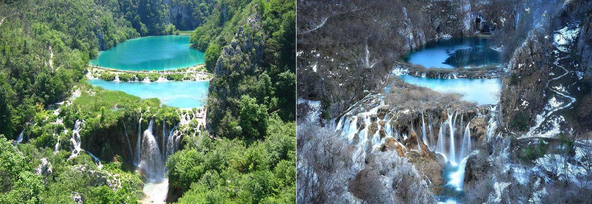 15 fotos de antes e depois da transformações invernais