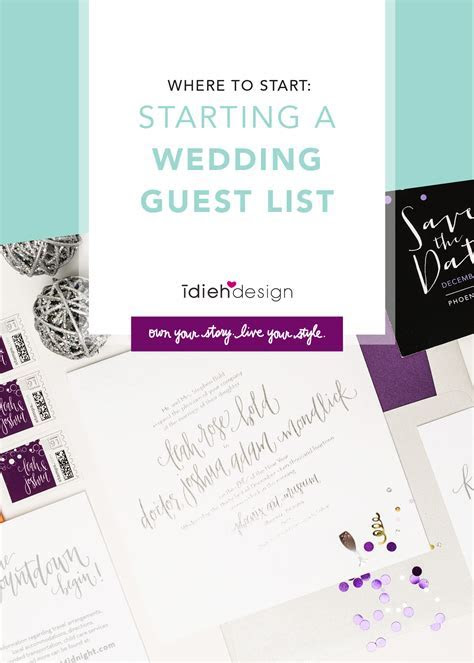 Where to Start: Starting a Wedding Guest List