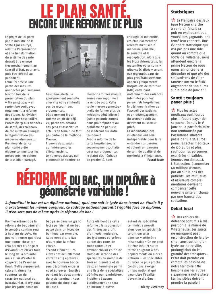 Exemple D Article De Journal Du Lycée - Le Meilleur Exemple