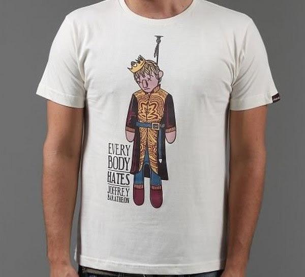 Camiseta Everybody Hates Joffrey (tamanho G)