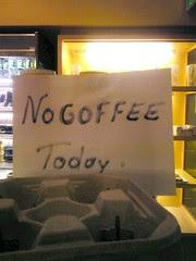 no coffee; pepsi.