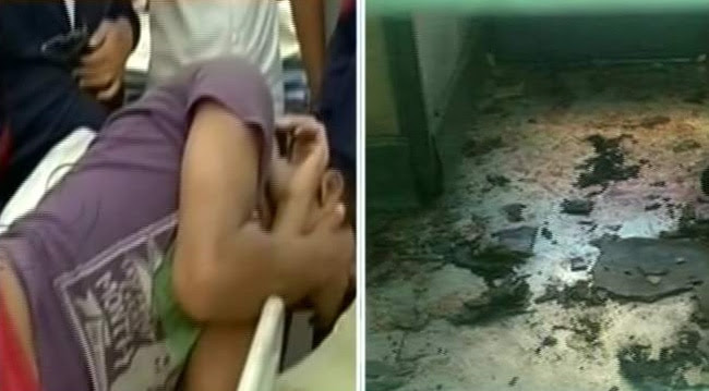 Several persons were injured in a bomb explosion in a train at Chennai Railway station.