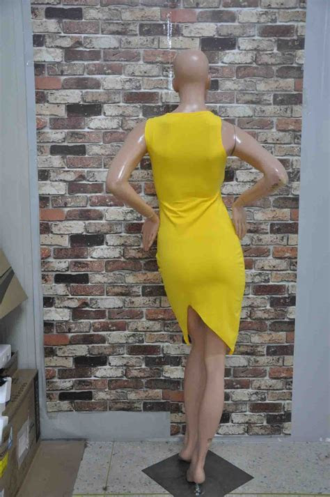 Women Sexy Split Club Bodycon Dresses Ladies Girls