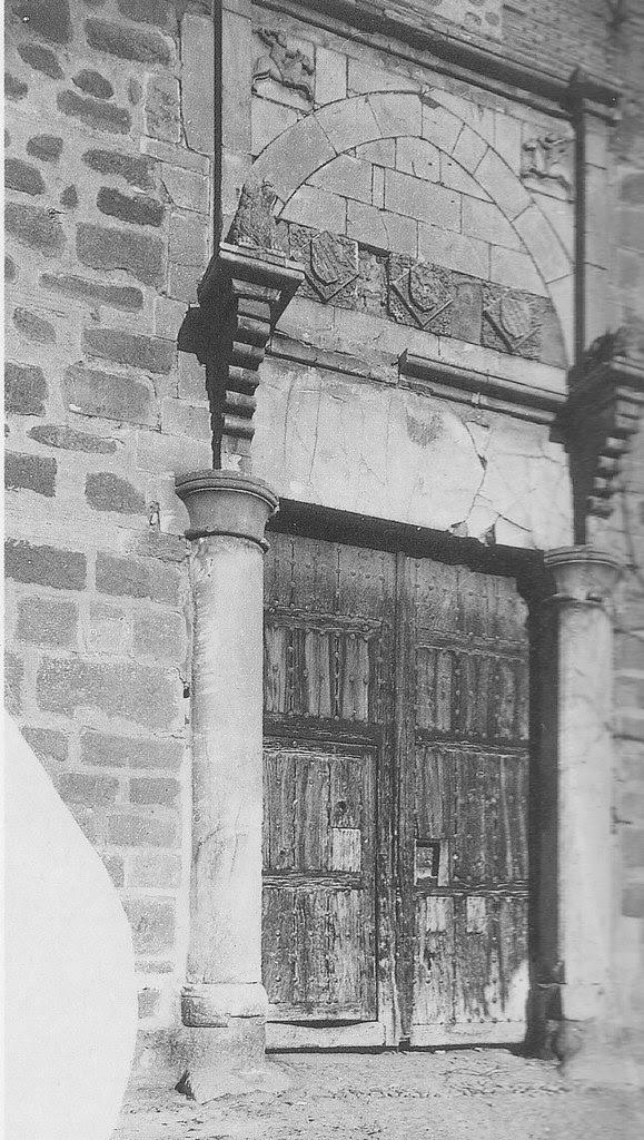 Palacio de Fuensalida a inicios del siglo XX. Foto Rodríguez