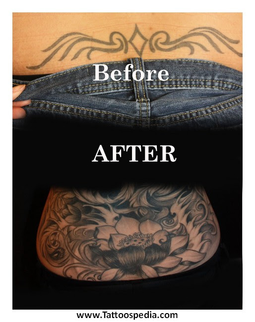 Tattoo Cover Up Black Ink 9