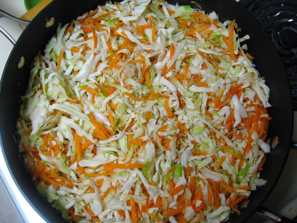 Cabbage and Carrots