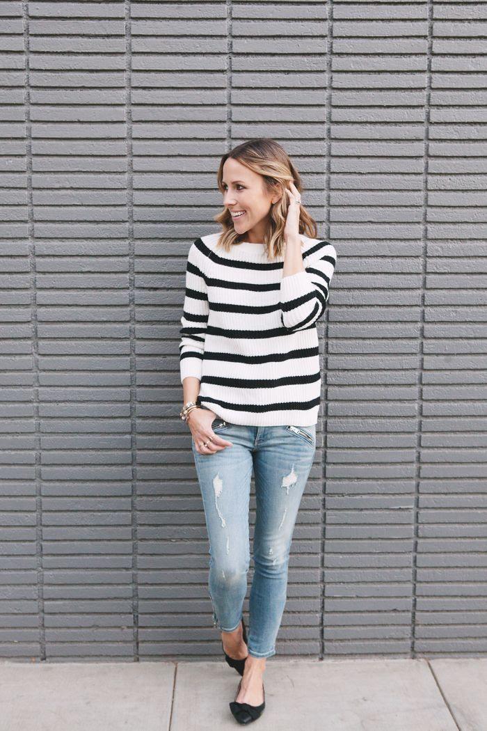 Striped Sweater | damsel in dior