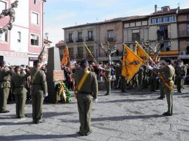 Acto homenaje a los que dieron su vida por España