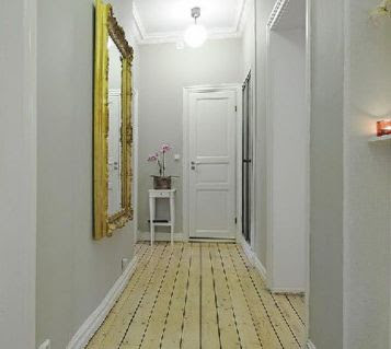 10 ejemplos de como decorar un pasillo - Decorar pasillos con espejos ...
