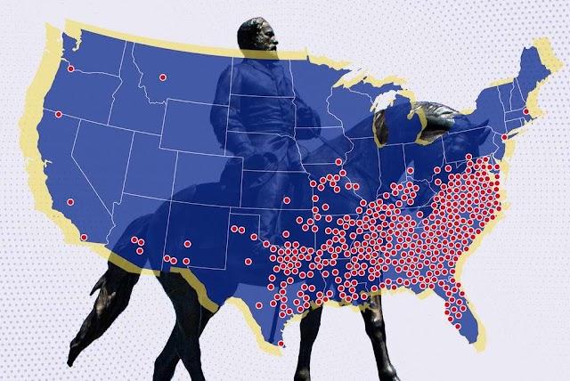 ¿Qué estados están eliminando los monumentos más confederados?