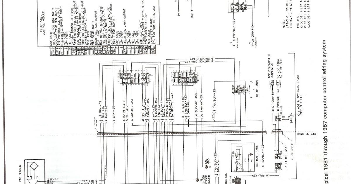 Chevy Truck Engine Wiring Harnes