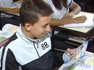 Projeto de alunos da Facip aborda bullying nas escolas de Ituiutaba (Foto: Reprodução/TV Integração)