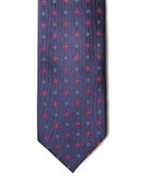 He By Mango Floral Patterned Tie