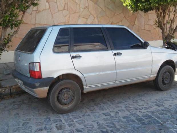 Veículo que os assaltantes usavam (Foto: Divulgação/Polícia Civil)