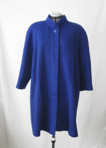 Blue swing coat original look