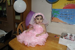The Birthday Girl Nerjis Asif Shakir 1 Year Old 17 July 2012 by firoze shakir photographerno1