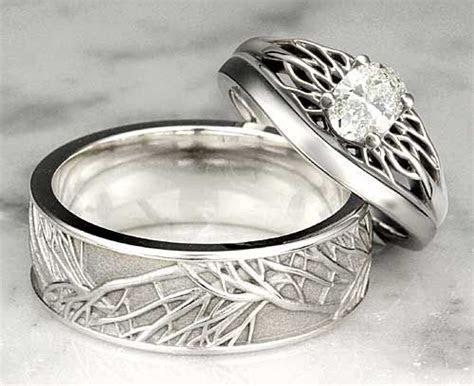 Trend of Plain Metal Wedding Bands   Jewelry   Unusual