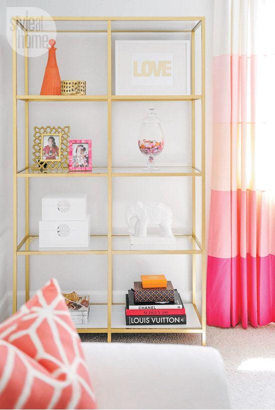 interior-whitebeige-shelf.jpg Pink Curtains