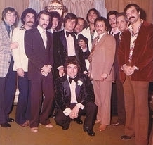 While in New York, Jon Roberts (third from left) had close ties with the Gambino crime family. He attended his last wiseguy party — a New York wedding — before fleeing to Miami in 1973.