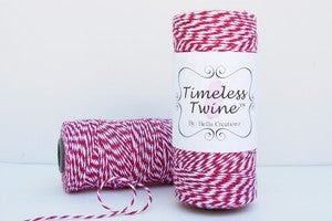 Image of Cherry Red TIMELESS TWINE™