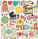 Emma's shoppe collection chipboard