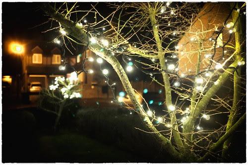 a few of the lights