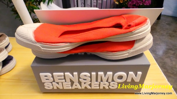 LivingMarjorney on Flickr, Bensimon Sneakers