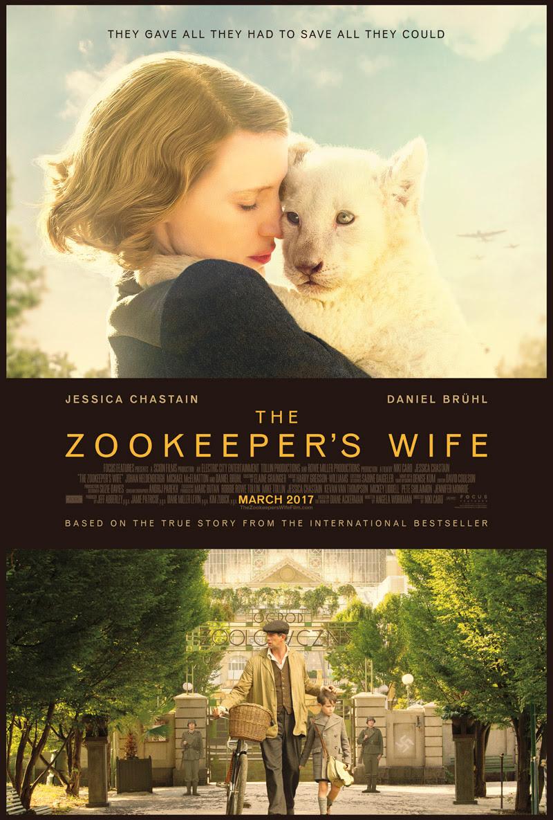 Resultado de imagen para the zookeeper's wife poster