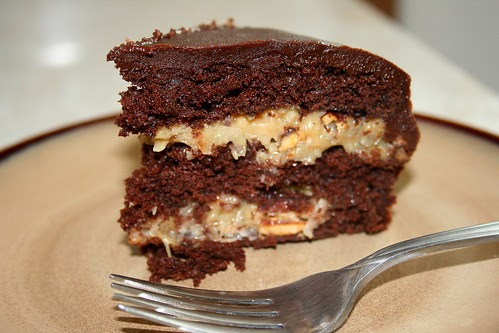 Jolts & Jollies: Inside-Out German Chocolate Cake