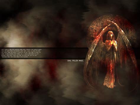 fallen angel wallpaper  desktop wallpapersafari