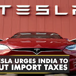 Tesla urges India to cut import taxes on electric vehicles | Auto news | WION latest updates