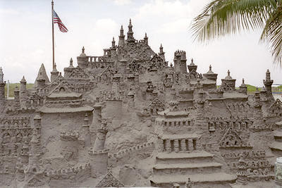Sand Castle - Miami Beach.