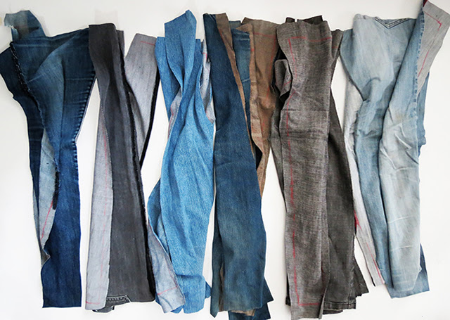 Resultado de imagem para artesanato em jeans