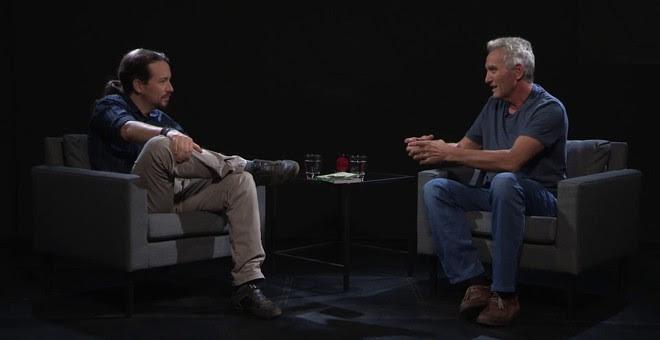 Pablo Iglesias entrevista a Diego Cañamero, en 'Otra Vuelta de Tuerka'