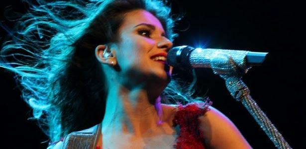"""Paula Fernandes se apresenta no Credicard Hall, em São Paulo, com a turnê """"Meus Encantos"""" (19/10/12)"""