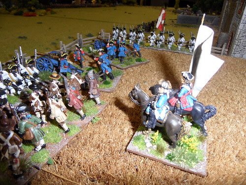 French General oversees the guns