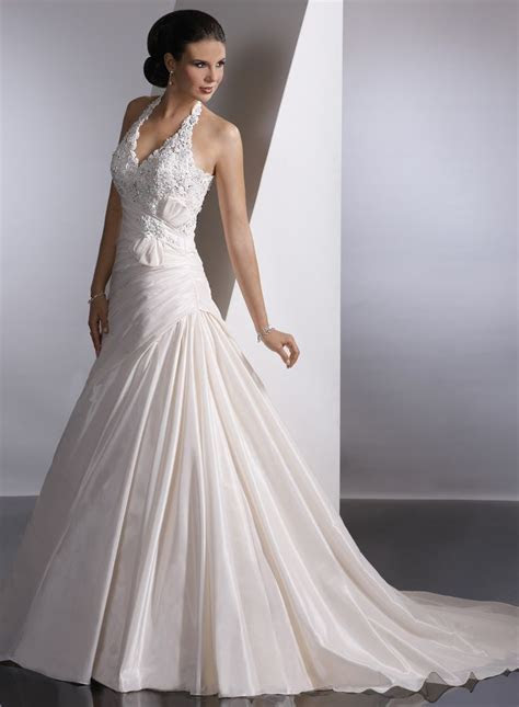 78  ideas about Halter Wedding Dresses on Pinterest