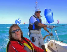 J/80 sailors- having fun at Key West