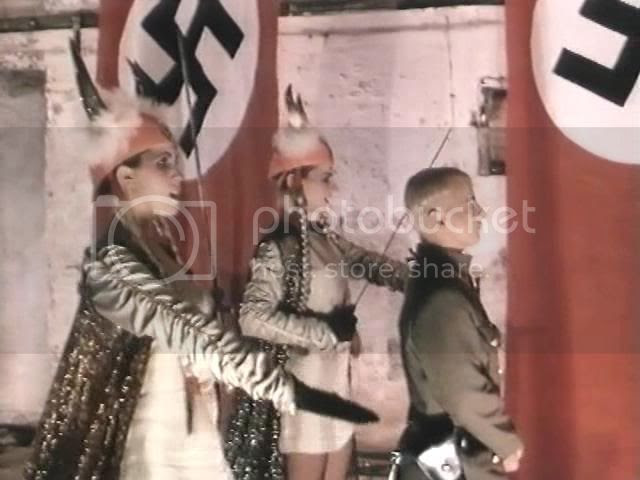 wedding for a Hitler clone