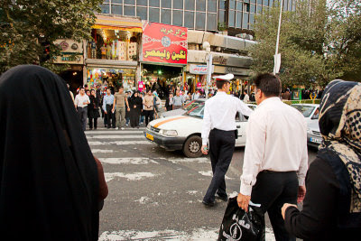 Tehran street scene (this is not from the film)