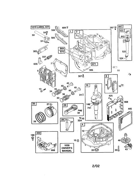 BRIGGS & STRATTON 4-CYCLE ENGINE Parts | Model